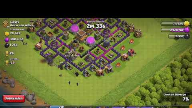 OP Attack Strategy for TH 8 | Clash of Clans |