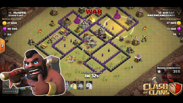 Clash of clans: war col th 8