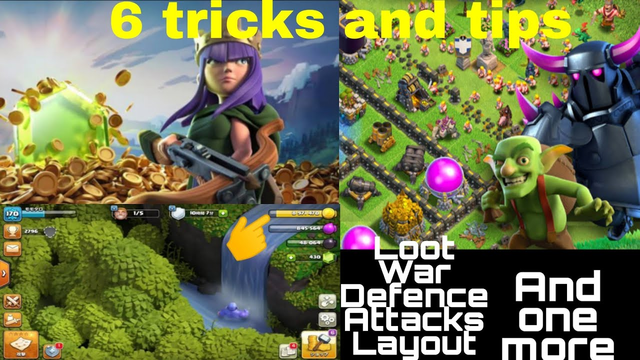Clash of clans 6 MAGIC Tricks and tips. For town hall 1 to 10.  Grow Rapidly.