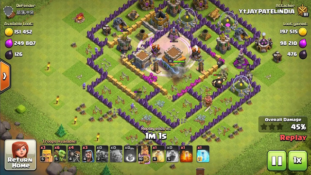 TOP 3 TOWNHALL 8 ATTACK STRATEGIES................................CLASH OF CLANS