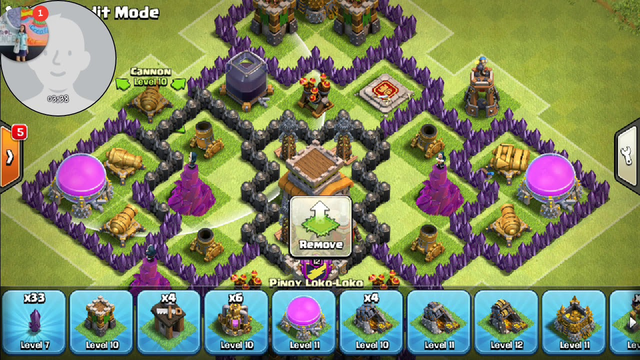 Clash of Clans TH 8 base