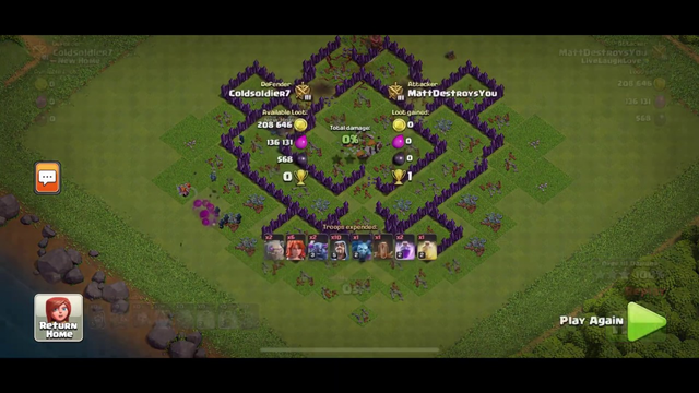 CLASH OF CLANS TH8 BEST ATTACK STRAT!