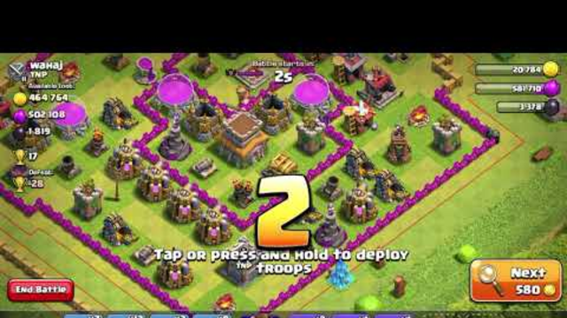 TH8 Loot Grab+Trophy Pushing Army | Clash of Clans