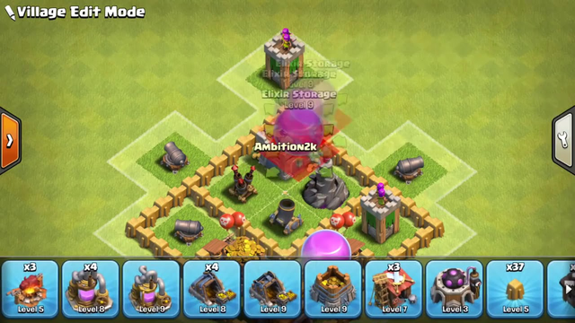 Clash of Clans Town Hall 5 Defense (COC TH5) BEST Trophy Base Layout Defense Strategy-2020 UPDATE