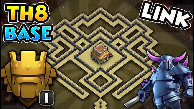 TOP 3 Town Hall 8 (TH8) TROPHY Bases 2020! Best TH8 Trophy Base Design/Layout/Defense Clash of Clans