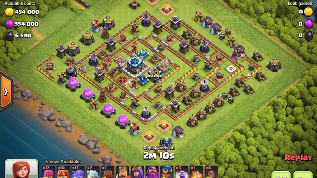 CoC Legends 3 Star Mess w/Freeze, Bowlers and Valkries