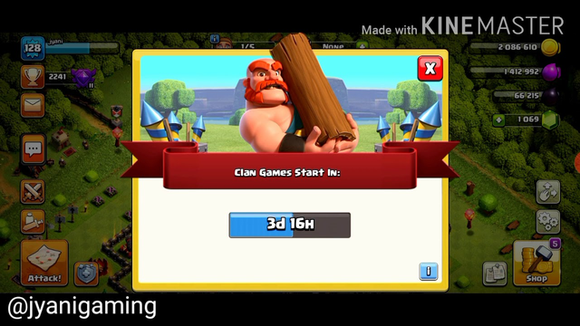 Clash of clans | another gameplay of coc | watch my clan and id and base | jyanigaming
