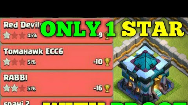 Unbeatable Town Hall 13(Th13) Base Link|Trophy & War Base|Only 1 Star With Proof|Clash Of Clans