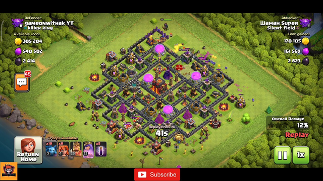 COC Town Hall 10 | Best Defence | Defence Base TH 10 | COC Defense Strategy | GOWAK | Clash Of Clans