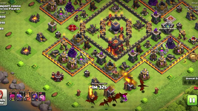 Clash of clans || Best defence ever Townhall 10 || COC