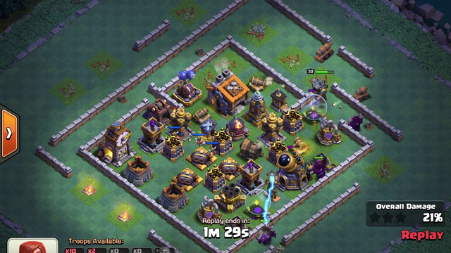 BH9 - Attack Strategy - 3x Pekka, Dragons, Minions, Carts - Clash of Clans - Builder Base