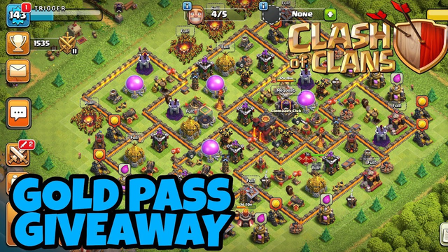 Hindi , Gold Pass Giveaway | Clash Of Clans