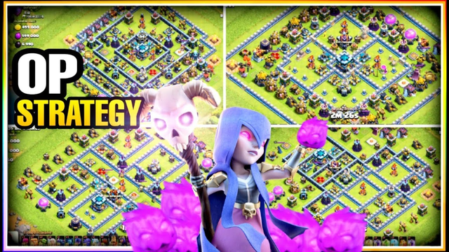 BEST TH13 LEGEND LEAGUE PEKKA BOWITCH ATTACK STRATEGY 2020 | CLASH OF CLANS