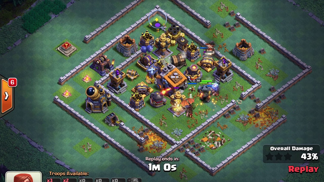 BH9 - Attack Strategy - 2x Archers, Pekka, Hogs, Minions, Dragons - Clash of Clans - Builder Base