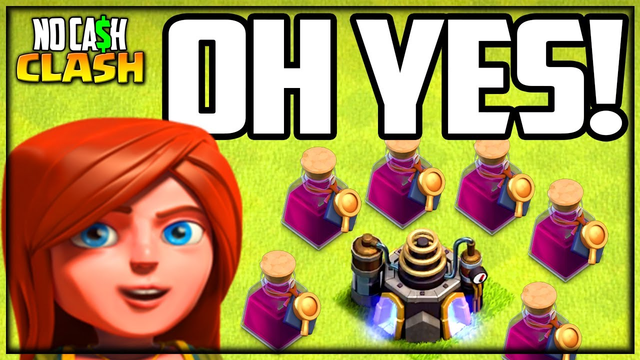 GOOD News for No Cash Clash of Clans!