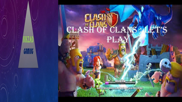 CLASH OF CLANS:LET'S PLAY (WOW WE CHANGE THE DECORATION OF OUR CLANS IT LOOKS BEAUTIFUL).
