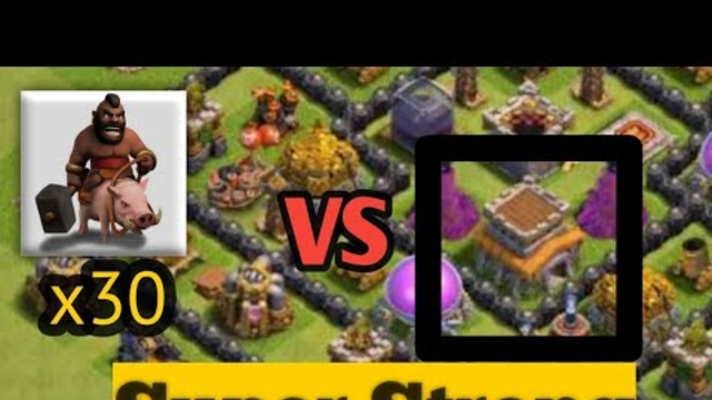 TH7 Super Strong Strategy That Can Defeat TH8 | Clash Of Clans