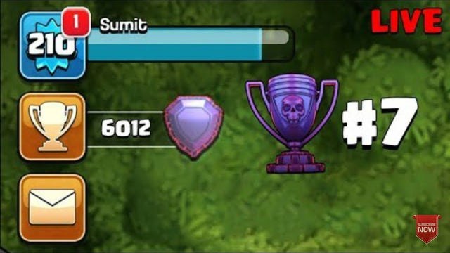 LIVE PUSH TO LEGEND IN CLASH OF CLANS| VP GAMING | #COCLIVE #PUSHING #INDIANSTARS