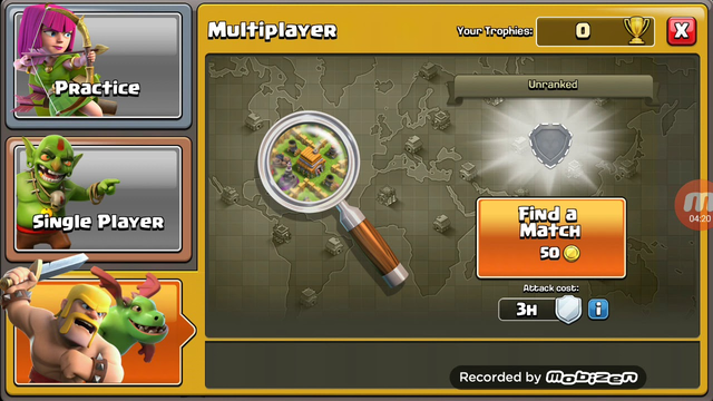 CLASH OF CLANS- I ATTACKED 3 STAR TWO TIME BUT I FAILED IN ONE ATTEMPT (PART 1)