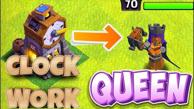 "New Clockwork Queen is HERE!! ""Clash Of Clans"" New Season Skin!"