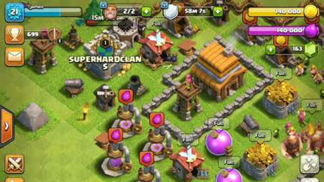 Clash of clans #16 the friendly players fourth (iOS)