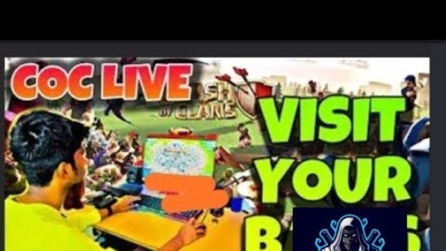 CLASH OF CLANS LIVE BASE VISITING || AND INVITE ME FOR CWL