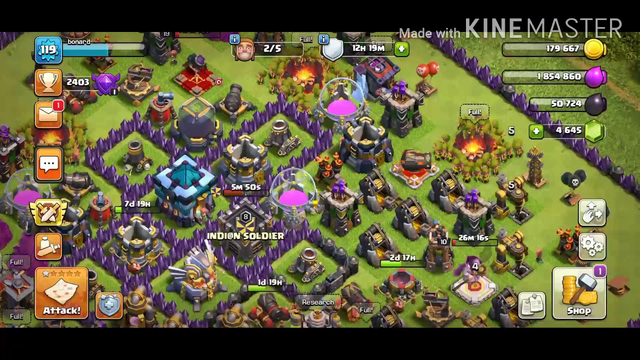TOWN HALL13 CLASH OF CLANS