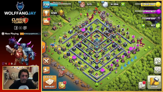 Clash of Clans - Live Stream. Clash with WolffangJay