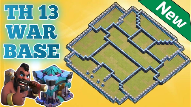 New Town Hall 13 War Base 2020 | ( Clash Of Clans )