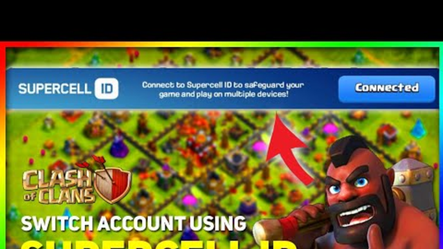 How To Switch Accounts Using Supercell ID | Clash Of Clans