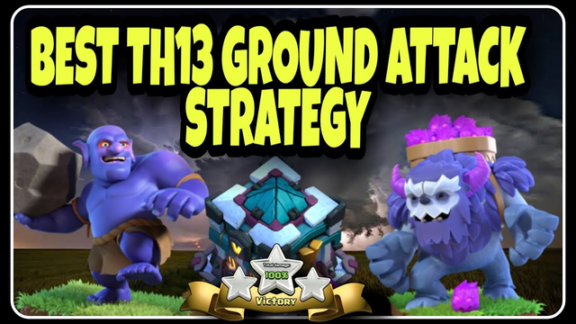 MAX TH13 GAMEPLAY - Clash of Clans Town Hall 13 Attacks | Ground Attack Strategy