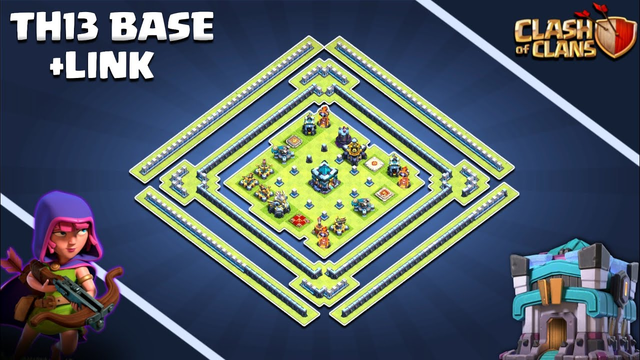 *LET'S TROLL* TH13 [LEGEND] league Base w/link | Town hall 13 Layout | Clash of clans