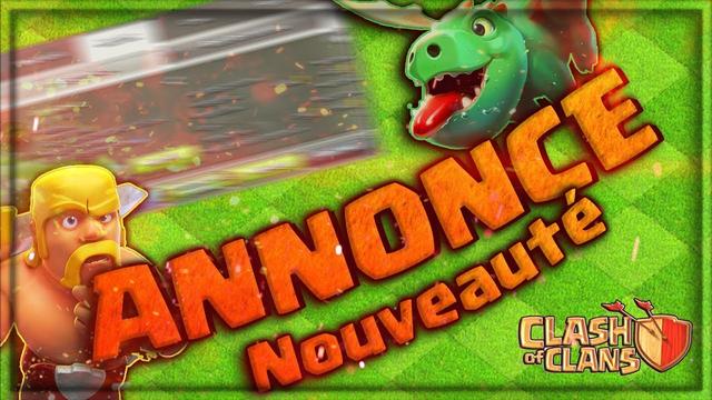 ANNONCE NOUVEAU PROJET ! Clash Of Clans