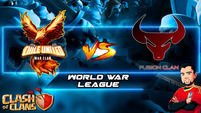 DIRECTO | CHILE UNITED Vs FUSION | WWL | Clash Of Clans | DiegoVnzlaYT