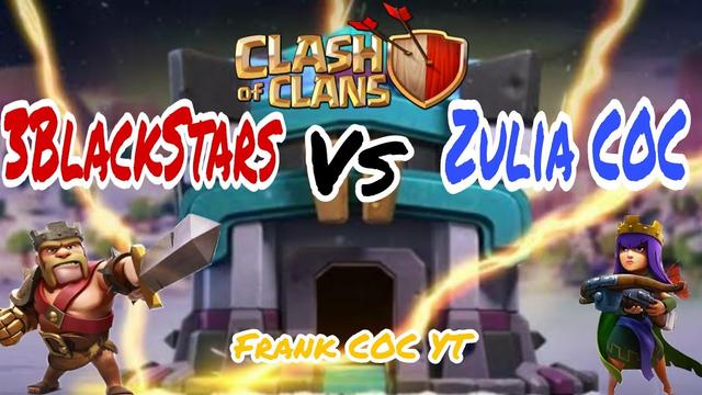 Guerra de Titanes  3Black Stars Vs Zulia COC | CLASH OF CLANS