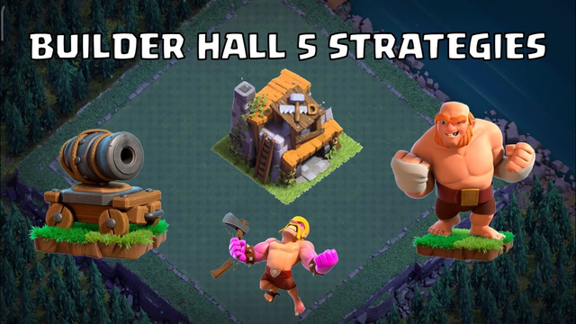 BUILDER HALL 5 ATTACK STRATEGIES | BUILDER HALL SERIES (PART 2) | CLASH OF CLANS INDIA