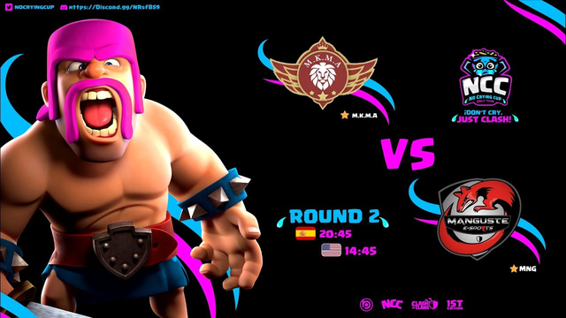MKMA vs MNG ESPORTS  | NO CRYING CUP | CLASH OF CLANS