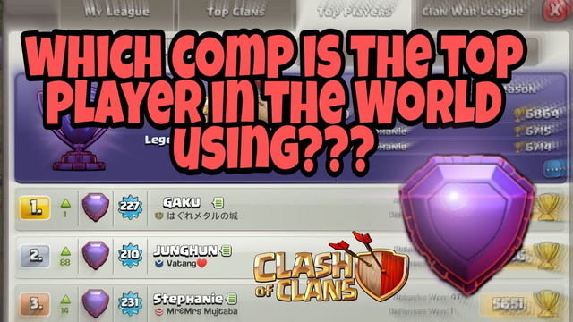 I Copied The Strategy Used By The TOP PLAYER In The WORLD | Legend League | Clash Of Clans