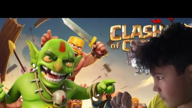 Clash Of Clans #1 (O ataque dos Goblins)