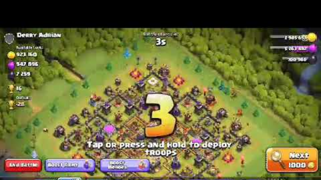 TH 11 MAX base cover with 3 stars with electro strategy | clash of clans