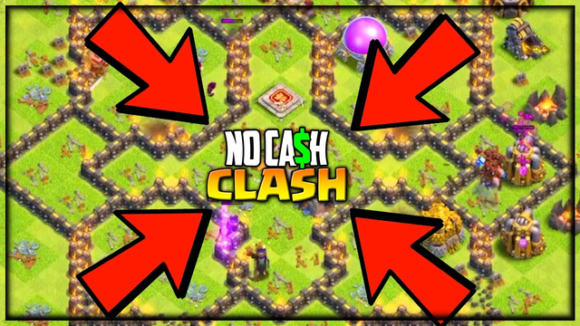 My Greatest Raid- EVER? No Cash Clash of Clans #94