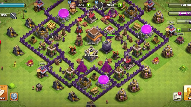A free town hall 8 clash of clans account legit !!!