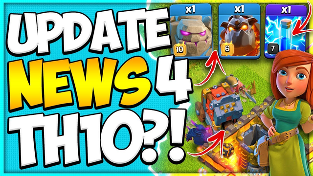 New Troop Levels Will Help Us At TH10! Clash of Clans June Update News and Info