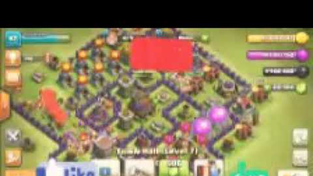 Clash of Clans full base of town hall 8 mod + apk + unlimited