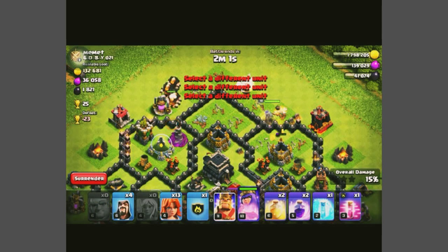 TOWN HALL 8 AND 9 TROPHY PUSHING STRATEGY . CLASH OF CLANS