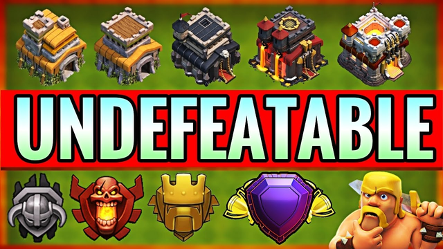 New BEST TH7,TH8,TH9,TH10 & TH11 TROPHY/WAR Base Designs! Town Hall 7-11 Defense - Clash of Clans