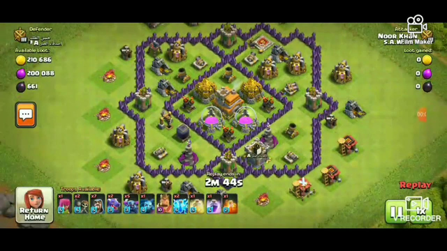 NEW 3 STARS  METHOD!?!CLASH OF CLANS  AT TOWN HALL 8 MAX TROOPS
