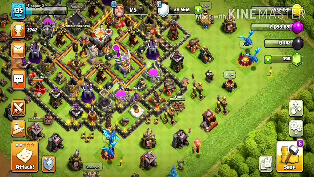 Heavy Hitters battle strategy for Town Hall 8 (Clash of Clans)