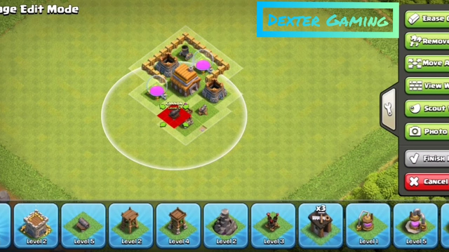 Town Hall 3 base | Best town hall 3 defence | Clash of clans