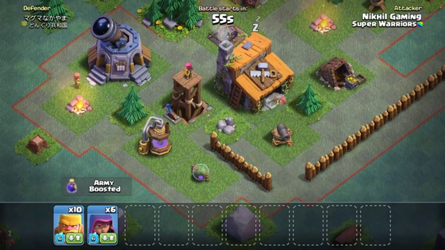 How To Three Star In Goblin Map From Town Hall 5. (COC)